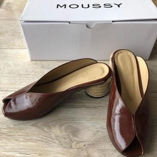 マウジー(moussy)のmoussy靴(ミュール)