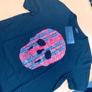 ZARA - 【ZARAザラ】スパンコール スカル Tシャツ