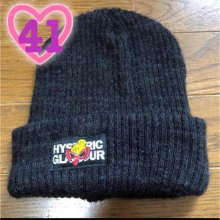 ヒステリックミニ(HYSTERIC MINI)のHYSTERIC MINI ニット帽 M(帽子)