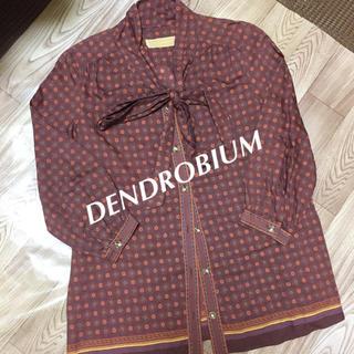 デンドロビウム(DENDROBIUM)の【お値下げ】☆DENDROBIUM☆レトロシャツ(シャツ/ブラウス(長袖/七分))