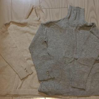 ザラキッズ(ZARA KIDS)のZARA 定番タートル104 2枚セット(Tシャツ/カットソー)