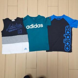 adidas Tシャツ まとめ売り 140
