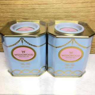 WEDGWOOD - ☆ウェッジウッド紅茶 2缶 アールグレイ☆ラッピング付き