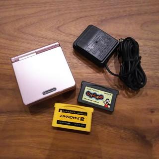 ゲームボーイアドバンス(ゲームボーイアドバンス)のゲームボーイアドバンスSP 充電アダプタ (携帯用ゲーム本体)