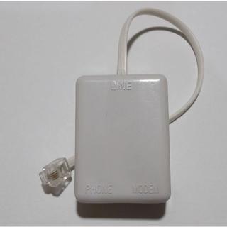 ADSLスプリッター&ケーブル 動作品【送料込】(PC周辺機器)