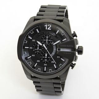ディーゼル(DIESEL)の【DIESEL】ディーゼル DZ4283オールブラックモテ系クロノグラフウオッチ(腕時計(アナログ))