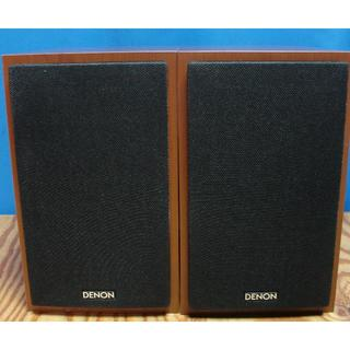 デノン(DENON)のDENON SC-M40-CW 展示極上品 保証付(スピーカー)