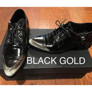 ディーゼル(DIESEL)のDIESEL BLACK GOLD レザー(ローファー/革靴)