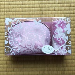 ハナエモリ(HANAE MORI)の新品 ☆モリハナエ ポーチ&ハンカチセット プレゼント(ポーチ)