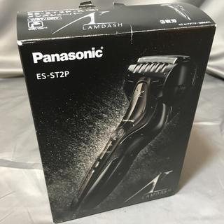 パナソニック(Panasonic)のパナソニック ラムダッシュ メンズシェーバー 3枚刃 黒 ES-ST2P-K(メンズシェーバー)