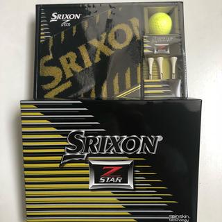 スリクソン(Srixon)の新品本物 ゴルフ スリクソン  ボール&タオル&ウッドティーセット(その他)