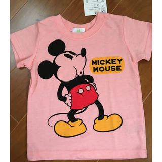 ディズニー(Disney)のタグ付き新品ミッキーTシャツ(Tシャツ/カットソー)