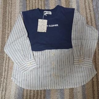 ニットプランナー(KP)のKP 新品タグつき トップス チュニック 100(Tシャツ/カットソー)