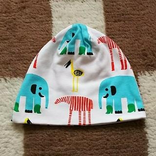 マリメッコ(marimekko)のマリメッコ  未使用     ベビー帽子   40~45cmくらい(帽子)