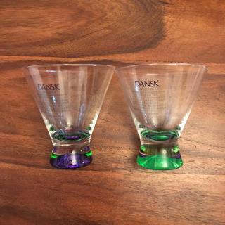 ダンスク(DANSK)の新品 未使用 DANSK ペア グラス/ ダンスク(グラス/カップ)