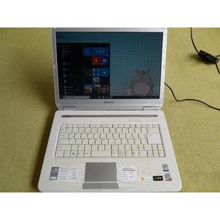 ソニー(SONY)のSONY VAIO 15.4inc メモリー4GB WINDOWS10(ノートPC)