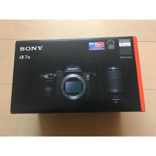 ソニー(SONY)のSONY α7 III ILCE-7M3K ズームレンズキット(ミラーレス一眼)