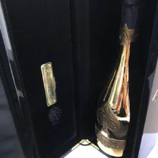 アルマンドバジ(Armand Basi)のアルマンド ゴールド 空き瓶(シャンパン/スパークリングワイン)