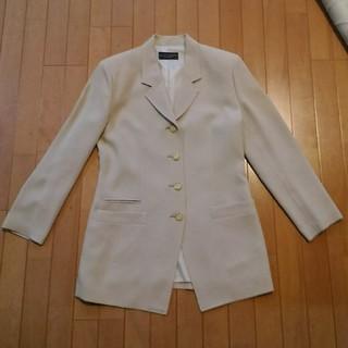 コシノジュンコ(JUNKO KOSHINO)のジャケット ベージュ コシノジュンコ(テーラードジャケット)