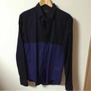 ザラ(ZARA)のZARA バイカラーシャツ(シャツ)