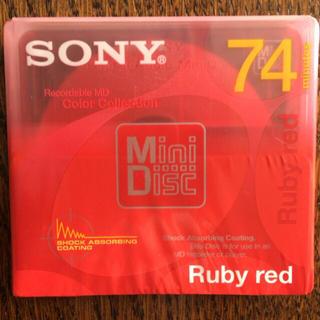 ソニー(SONY)の【未開封】SONY ソニー 録音用ミニディスク MiniDisc/MD(その他)