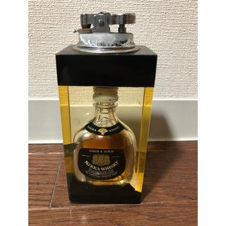 ニッカウイスキー(ニッカウヰスキー)の昭和レトロ・ニッカウイスキーの卓上オイルライター(ウイスキー)