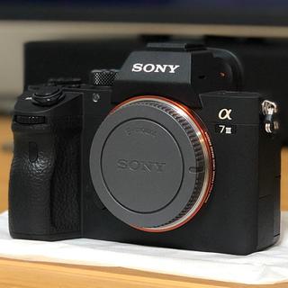 ソニー(SONY)のα7III+SEL35F28Z+グリップエクステンション(ミラーレス一眼)