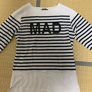 アンダーカバー(UNDERCOVER)のundercover MAD ボーダーカットソー(Tシャツ/カットソー(七分/長袖))