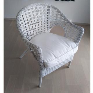 イケア(IKEA)のIKEA イケア チェア 椅子 ホワイト 未使用品(ダイニングチェア)