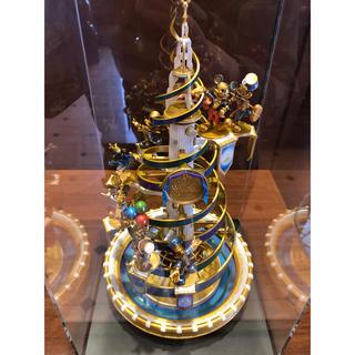 ディズニー(Disney)のセレブレーションタワー フィギュア 800個限定 ディズニー 35周年(キャラクターグッズ)