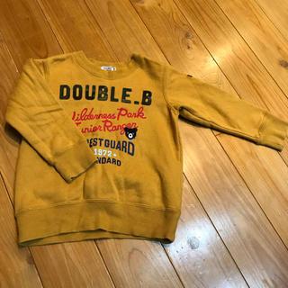ダブルビー(DOUBLE.B)のダブルBトレーナー100(Tシャツ/カットソー)