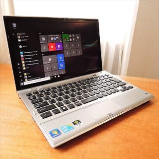 ソニー(SONY)のWindows10/i5/HD+/SSD/ SONY VAIO 高性能モバイル(ノートPC)