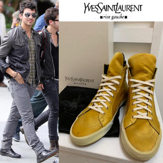 サンローラン(Saint Laurent)のYVES SAINT LAURENT ROLLING HIGH SNEAKER(スニーカー)