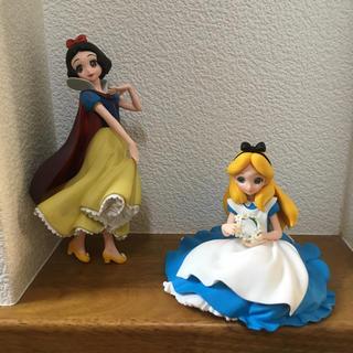 ディズニー(Disney)のQposket アリス 白雪姫 フィギュア(フィギュア)