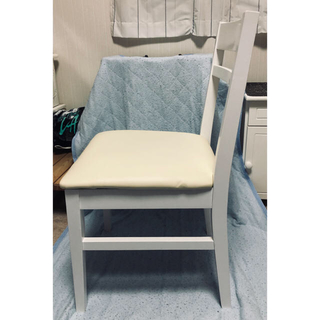 未使用品☆ホワイト 白 椅子(デスクチェア)