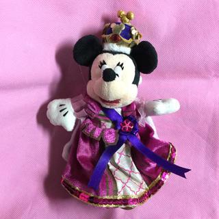 ディズニー(Disney)のミニー  ぬいぐるみバッジ シンデレララブレーション ぬいば プリンセス(ぬいぐるみ)