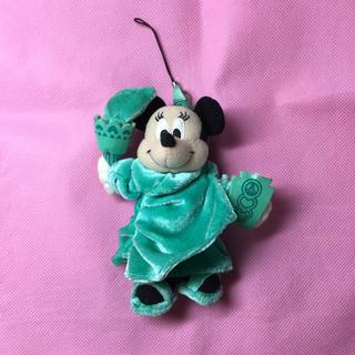 ディズニー(Disney)の自由の女神 ミニー  ぬいぐるみストラップ ぬいスト(キャラクターグッズ)