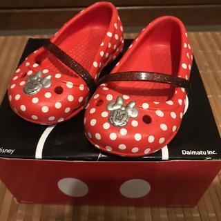 ディズニー(Disney)の新品未使用 クロックス 12cm~ 女の子 ディズニー ミニー (サンダル)