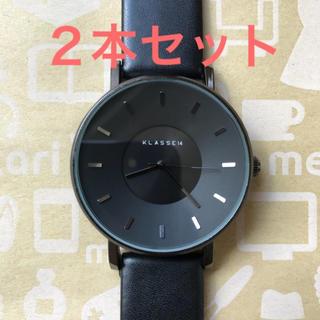 ダニエルウェリントン(Daniel Wellington)の☆新品☆ 2色2本セット KLASSE14 クラス14 腕時計 42mm(腕時計(アナログ))
