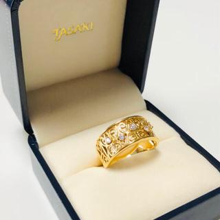 タサキ(TASAKI)のTASAKI  K18 ダイヤモンド リング 指輪 (リング(指輪))