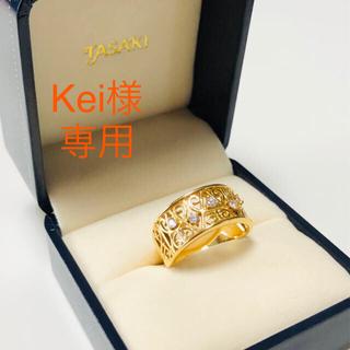 タサキ(TASAKI)のKei様 専用です。TASAKI  K18 ダイヤモンド リング 指輪 (リング(指輪))
