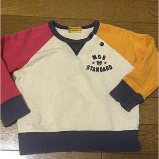 ダブルビー(DOUBLE.B)のミキハウス ダブルビー トレーナー(Tシャツ/カットソー)