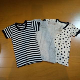シマムラ(しまむら)のフライスTシャツ肌着半袖(肌着/下着)