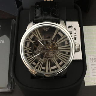 エンポリオアルマーニ(Emporio Armani)の新品未使用 エンポリオアルマーニ AR4629自動巻き腕時計(腕時計(アナログ))