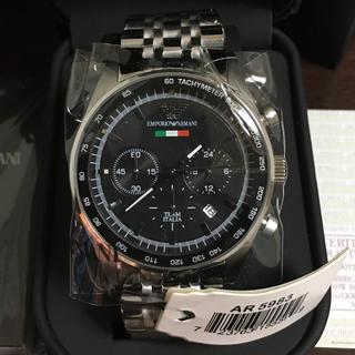 エンポリオアルマーニ(Emporio Armani)の新品未使用 エンポリオアルマーニ AR5983腕時計(腕時計(アナログ))