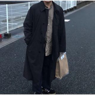 コモリ(COMOLI)のcomoli  バンドカラー コート(ステンカラーコート)