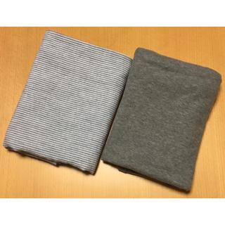 ムジルシリョウヒン(MUJI (無印良品))の無印良品 麻平織&オーガニックコットン天竺 まくらカバー 2枚セット(シーツ/カバー)