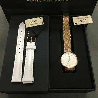 ダニエルウェリントン(Daniel Wellington)の32mm 人気アイテム セット 時計とベルト 00100163 (腕時計)