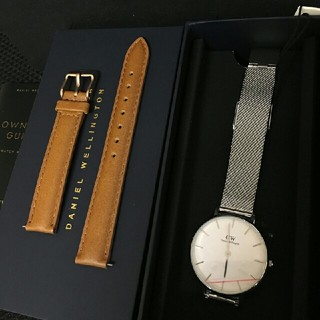 ダニエルウェリントン(Daniel Wellington)のDW 人気アイテム セット 時計とベルト 32ミリ 00100164(腕時計)
