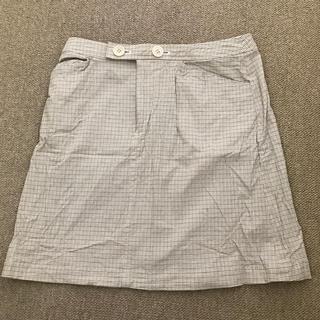イネド(INED)のイネド スカート 丈40 ゴルフ(ミニスカート)